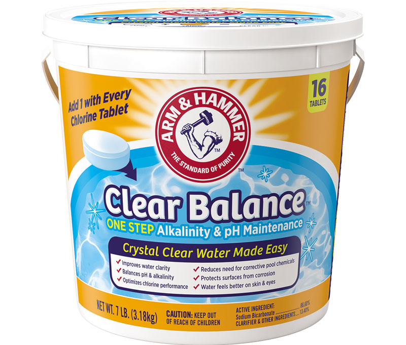 Clear Balance™ Pool Maintenance Tablets