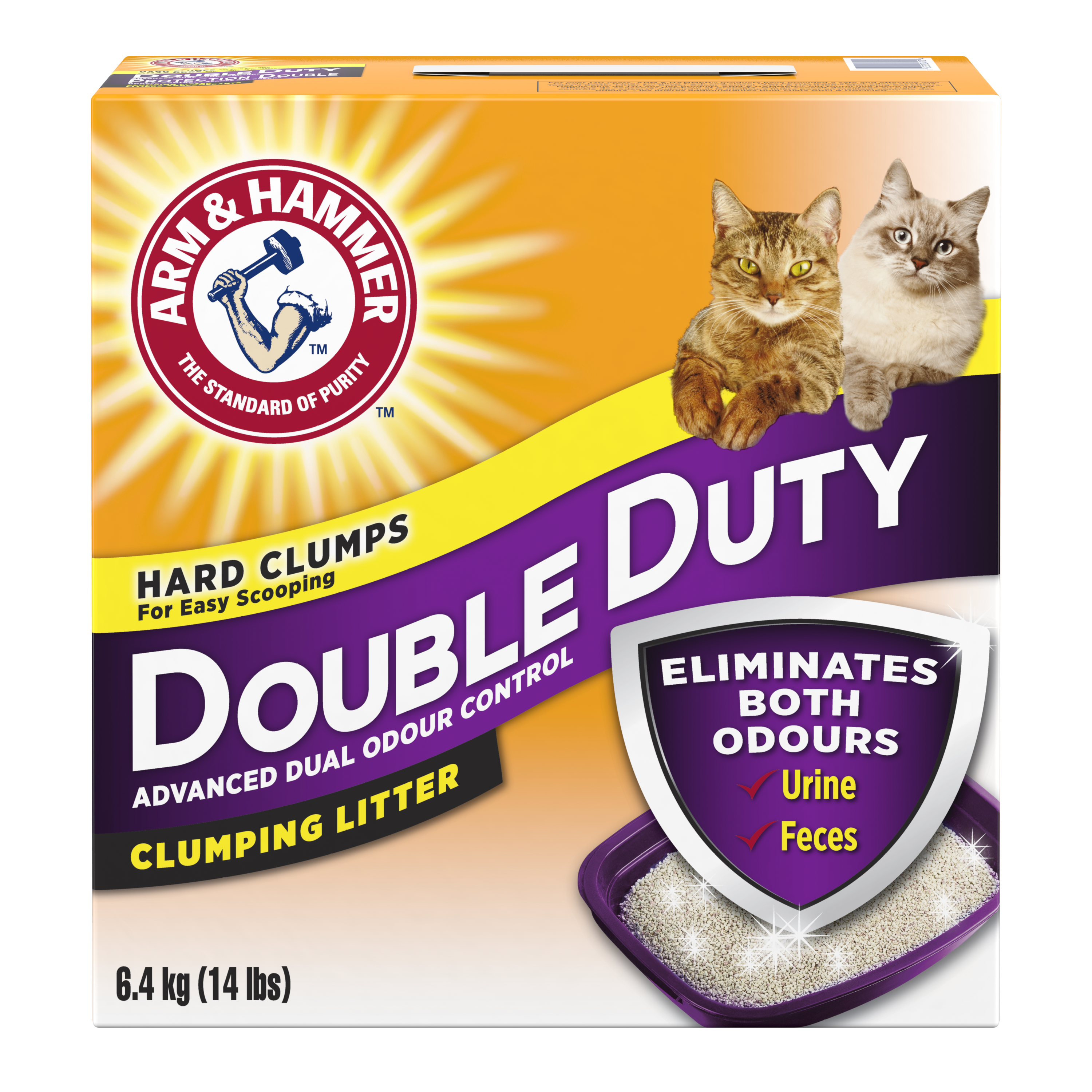 Double Duty Clumping Cat Litter