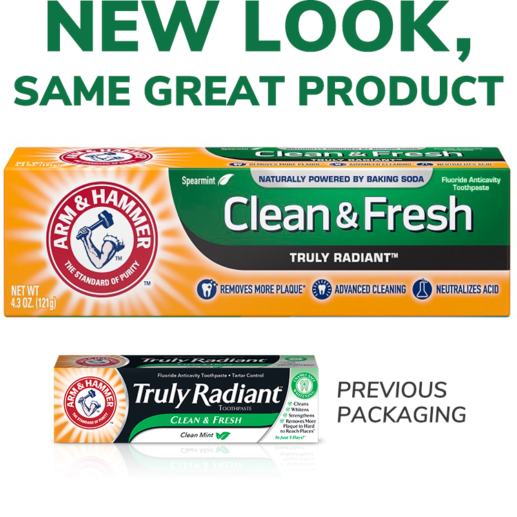 Clean & Fresh Truly Radiant™ Toothpaste