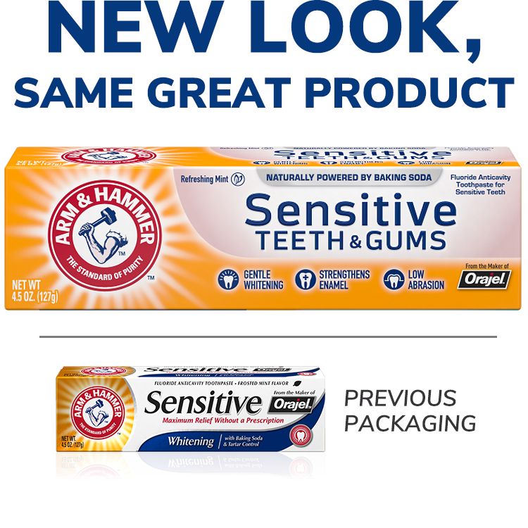 Sensitive Teeth & Gums™ Toothpaste