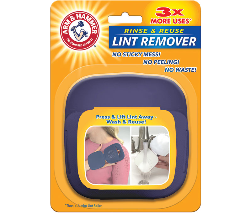 Rinse & Reuse Lint Remover