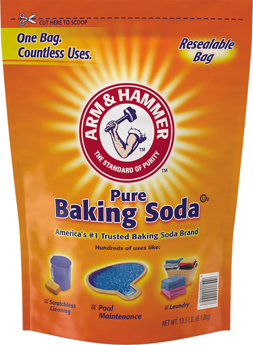 Baking Soda Resealable Bag