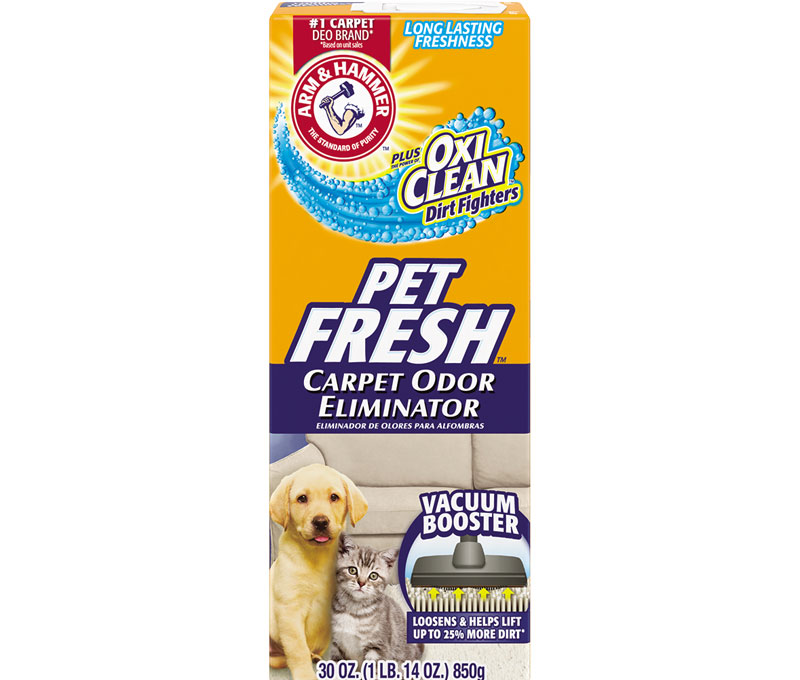 Plus OxiClean™ Dirt Fighters Carpet Odor Eliminator, Pet Fresh