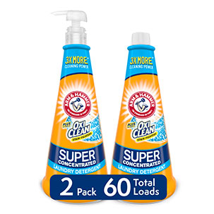 Plus OxiClean™ Super Concentrated Detergent