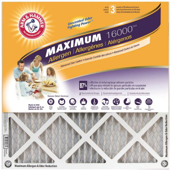 ARM & HAMMER™ HVAC and Furnace Filters